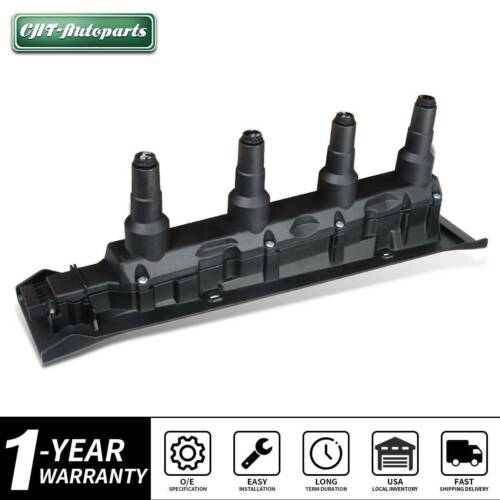 Direct Ignition Coil Cassette Pack for Saab 9-3 9-5 1999-2009 2.0L 2.3L Turbo