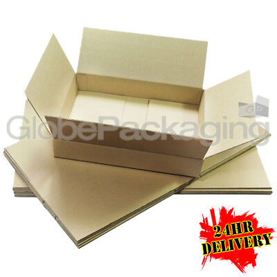 25 NEW DEEP Max Size Royal Mail Small Parcel Postal Boxes 350x250x160mm - 24HRS