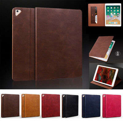 For iPad Air 1/2 5th/6th Gen 9.7 mini 1234 Ultra thin Leather Smart Case Cover