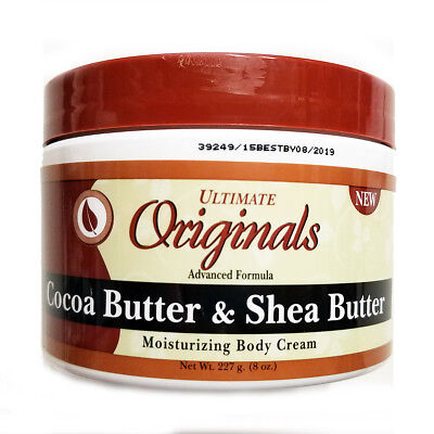 AFRICA'S BEST ULTIMATE ORGANICS COCOA&SHEA BUTTER MOISTURIZING BODY CREAM