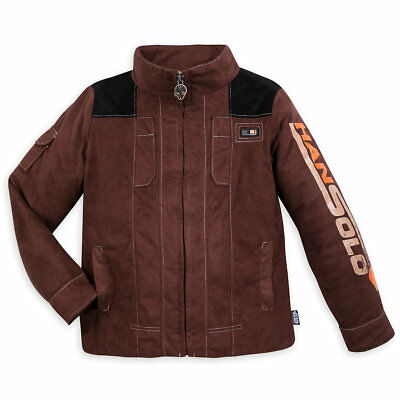 Disney Star Wars Han Solo Costume Bomber Jacket NWT Boys / Girls size 4 & - Han Solo Girl Costume