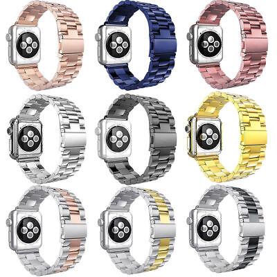 Für Frauen Männer Apple Uhrenarmband Riemen Serie 2 3 Metallic Armband 42mm 38mm
