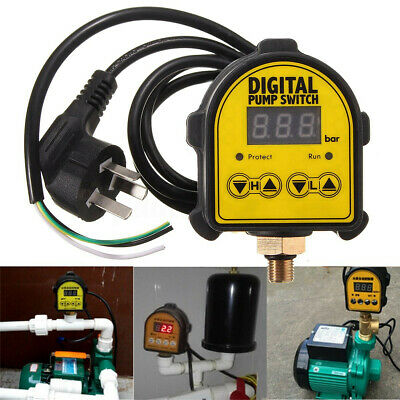 Auto Digital Pressure Controller On Off Switch 220v For Water Air Gas Pump