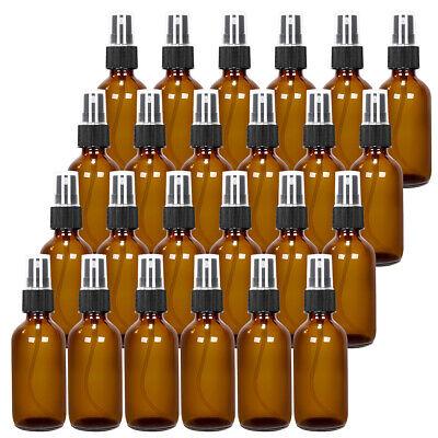 24pack Glassplastic Spraydropper Bottle Wfine Mist For Perfume Oil Amberblue