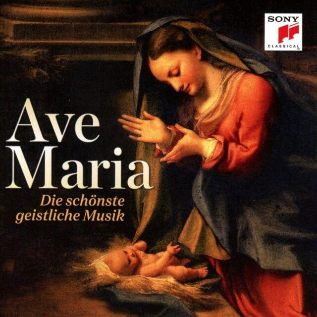 AVE MARIA (VITTORIO GRIGOLO, NURIA RIAL, PLACIDO DOMINGO,...) CD NEU