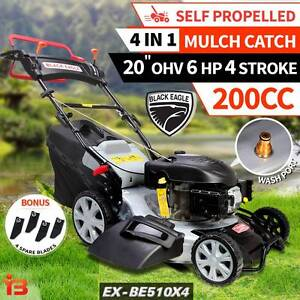 New Self Propelled Lawn Grass Mower 4 In1 Mulch & Catch Fairfield Fairfield Area Preview