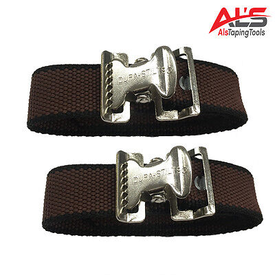 Dura-stilt Toe Strap Kit 1 Pair Genuine Oem New