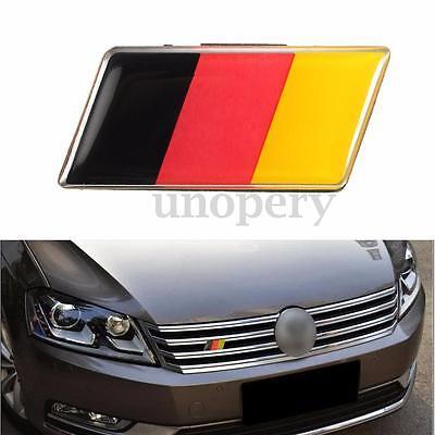 Front Grille Bumper German Flag Emblem Badge Sticker For VW Golf/Jetta Audi