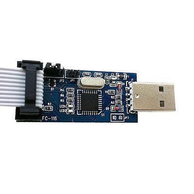 2pcs Usbasp Usbisp 3.3v 5v Avr Programmer Usb Atmega8 New Z3