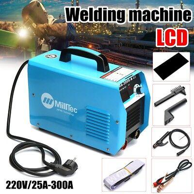300a Welder Inverter Welding Machine Gas Gasless Mig Arc Mig-300 Gun Mask Brush