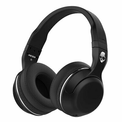 Skullcandy S6HBGY-374 Hesh 2 Wireless On-Ear Bluetooth Black Headphone