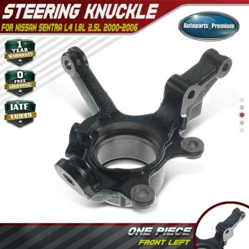 A-Premium Steering Knuckle Compatible with Volkswagen Jetta 2005-2010 Front Driver with 4-Mounting Hole
