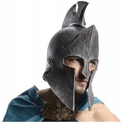 Greek Helmet Themistocles Costume 300 Spartan Warrior Halloween Fancy Dress - Greek Costume Men
