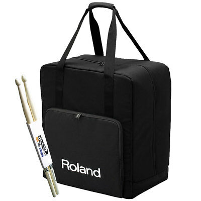 Roland Cb-Tdp Bag for V-Drum-Set + Drumsticks for sale  Shipping to United Kingdom