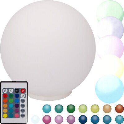 GRUNDIG LED Stimmungs Lampe Kugellampe Farbwechsel Licht Leuchte + Fernbedienung