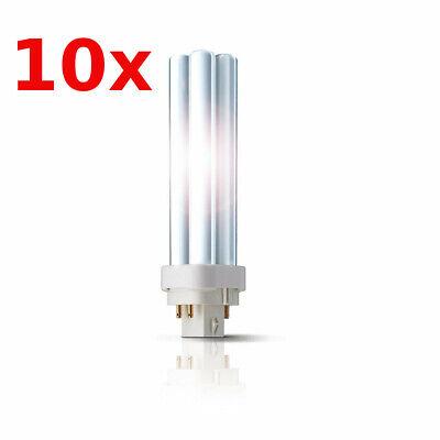 10x Philips Kompaktleuchtstofflampe MASTER PL-C  13W 4P G24q 830 Warmweiß 4-Pin - 13w 4 Pin Lampe