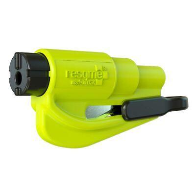 resqme® Car Escape Tool - Yellow, 1 pack, Seatbelt Cutter / Window Breaker
