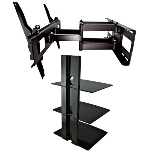 swivel tv mount dvd player cable wall shelf stand direct. Black Bedroom Furniture Sets. Home Design Ideas