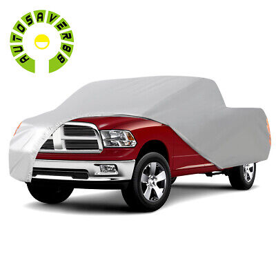 Universal Fit Pickup Truck Cover Sun UV Rain Resistant All Weather Protection