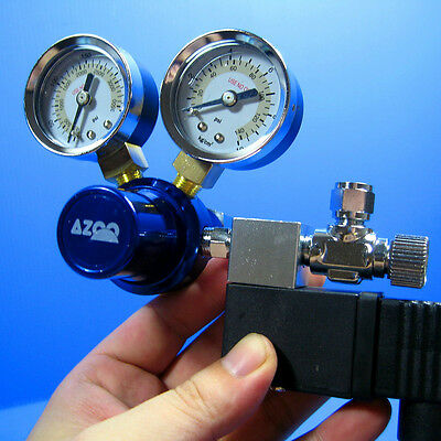 Aquarium CO2 Pressure Regulator With Magnetic Valve for Water Plant Fish Tank