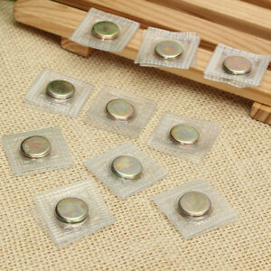 10 Pairs Invisible Hidden Sew Magnetic Snap Magnet Fastener for handbag clothing
