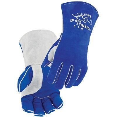 Black Stallion Cowhide Stick Welding Gloves Wcushioncore Liner Medium 320