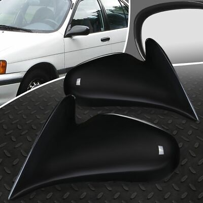 FOR 98-02 TOYOTA COROLLA PAIR OE STYLE MANUAL SIDE VIEW DOOR MIRROR LEFT + RIGHT