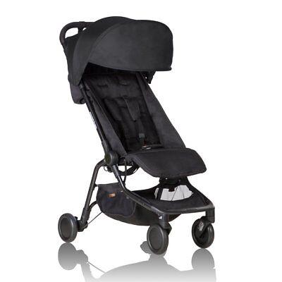 2018 Mountain Buggy Nano Stroller, Black