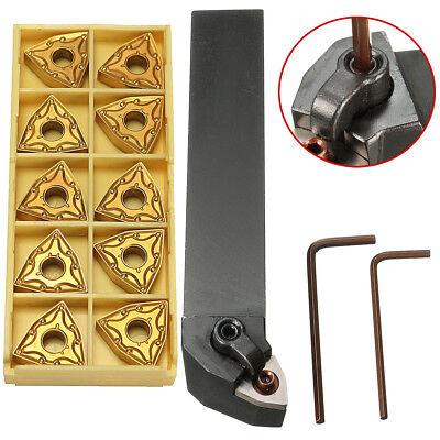 Mwlnr2525m08 25mm Lathe Turning Tool Holder W 10pcs Wnmg080404 Carbide Inserts