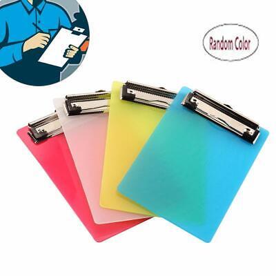 A6 Clipboardsplastic Clipboardmini Colourful Transparent With Low Profile Clip