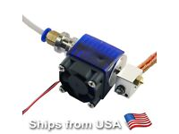 JN/_ DC 12V 50mm Cooling Fan Blow Radial Hotend Extruder For RepRap3D Printer L