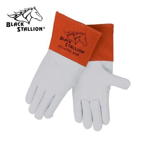 Revco Black Stallion Premium Grain Kidskin TIG Welding Glove 35K Size Medium
