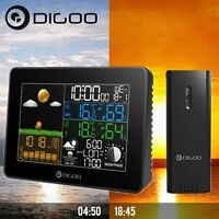 Digoo Usb Inalambrico Estación Meteorológica Humedad Temperatura Reloj Sensor - meteor - ebay.es