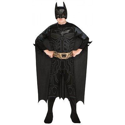 Batman Costume Kids The Dark Knight Superhero Halloween Fancy Dress