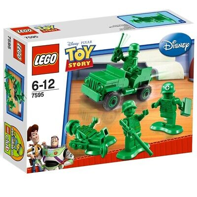 Lego Toy Story 7595 Army Men on Patrol - Jeep & Green Army Minifigures - NEW
