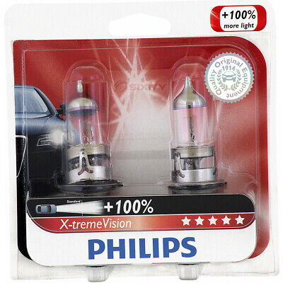 Philips High Low Beam Headlight Light Bulb for Dodge Dakota Caliber Ram 2500 wi