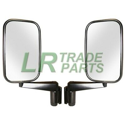 LAND ROVER DEFENDER 90 110 130 NEW DOOR WING MIRRORS WITH ARMS PAIR   MTC5217