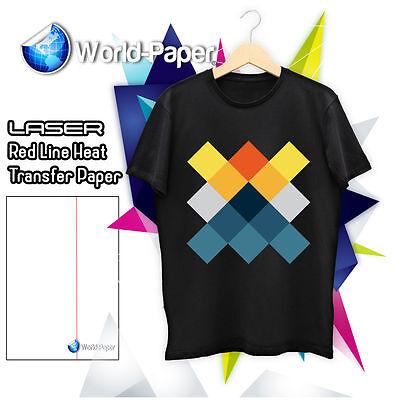 Laser Printer Heat Transfer Paper Soft Finish For Dark T Shirt 11 X 17 100pk