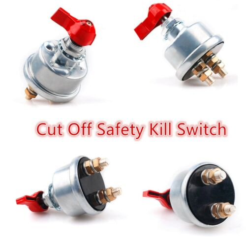 Car Battery Master Isolator Cut Off Kill Switch Universal , Racing,Boat, Truck