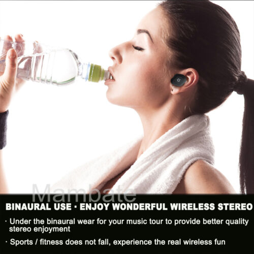 Купить AGPtek HA0132W - AGPtek Mini TWS Twins Wireless Bluetooth Stereo Headset In-Ear Earphones Earbuds