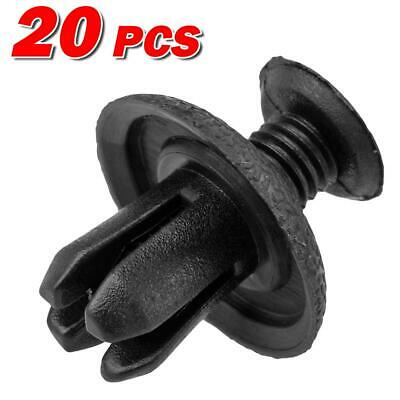 20x Nylon Front Bumper Fender Liner Clips Rivet Retainer for Mitsubishi Galant