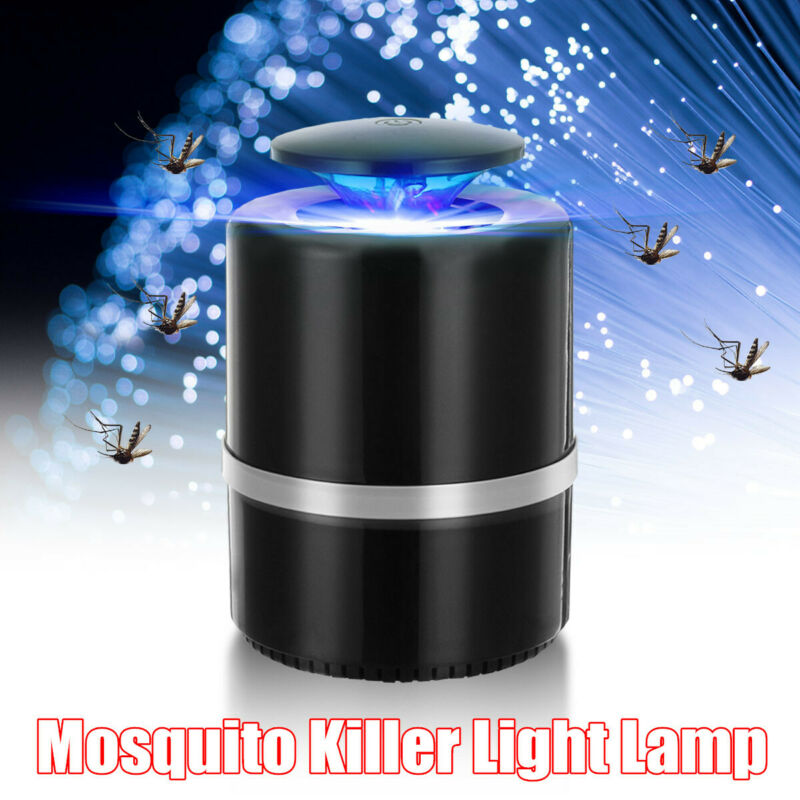 Nonradiative USB LED Electric Mosquito Zapper Killer Insect Bug Trap Lamp  @!%