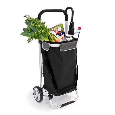 bremermann® Einkaufstrolley BRINKUM, Handwagen, Einkaufswagen, schwarz