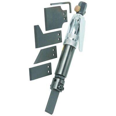 Air Scraper Set - 6 Pc Pneumatic Kit - Regulator - Remove Glue Paint Rust Gasket