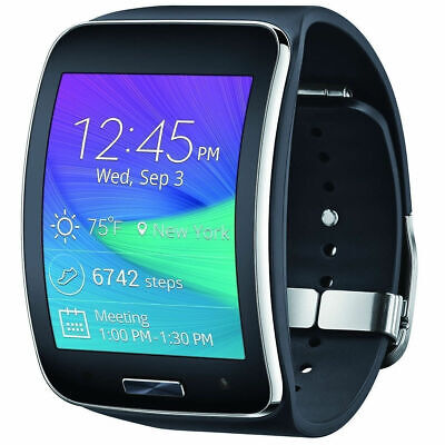Galaxy Gear S SM-R750 Black T-Mobile Smart Watch Can Not Support SIM CARD