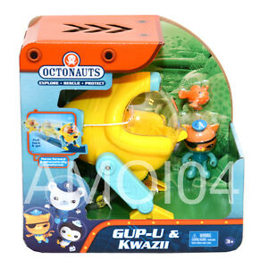 Octonauts Gup-U Vehicle & Kwazii Figurine *NEW RELEASE | RARE