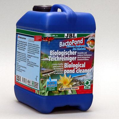 JBL BactoPond 2,5L -  Pflege Algen Nährstoffe Teich Bakterien Reduzierung Pflege