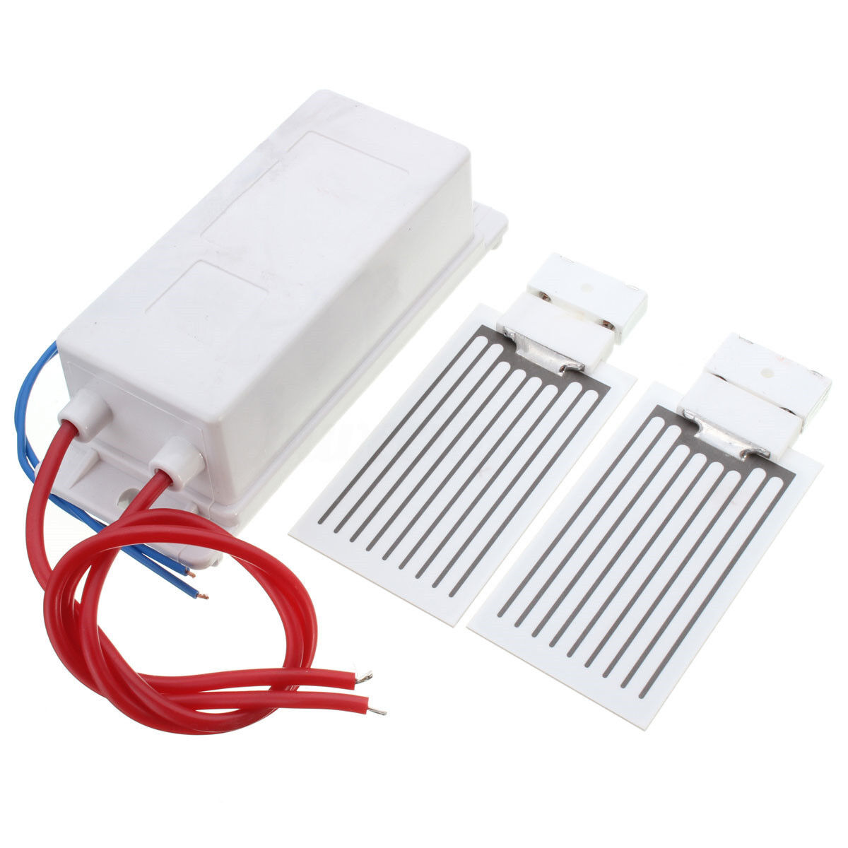 110/220V 7/10g/hr Supply Ceramic Plate Ozone Generator Air Cleaner Purifier Kit