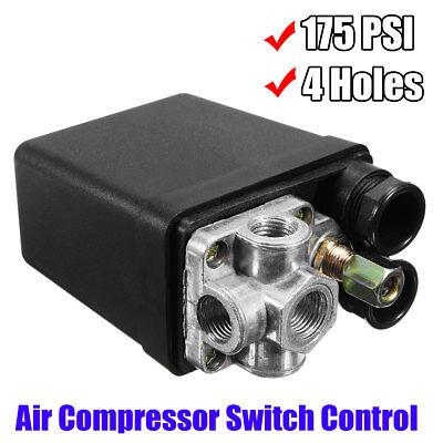 Heavy Duty Air Compressor Pressure Switch Control Valve 90 Psi-120 Psi 240v