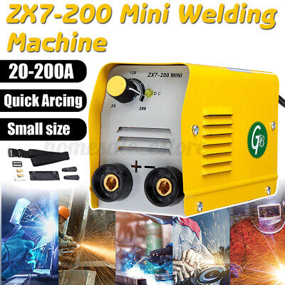 110v 200a Mini Electric Welding Machine Igbt Dc Inverter Arc Mma Stick Welder Us